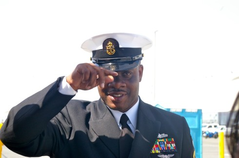 Erric Davis served as a Chief Petty Officer in the U.S. Navy.